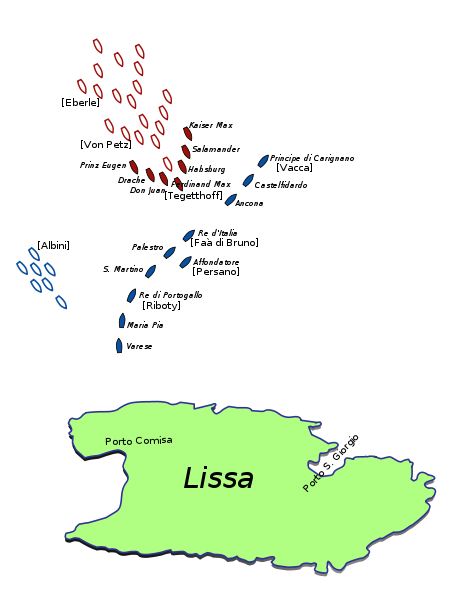 Fig.4-450px-Battle_of_Lissa_-_1866_-_Initial_Situation.svg