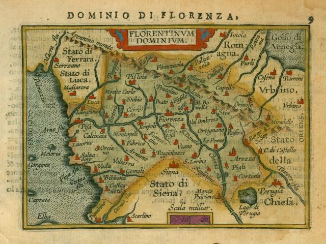 Ortelius-Dominio di Florenza