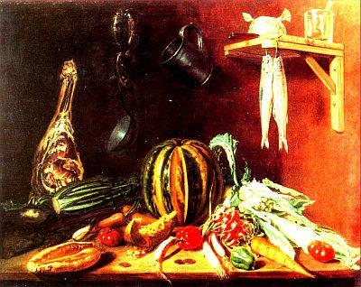 Epaminonda Chiama -La cucina