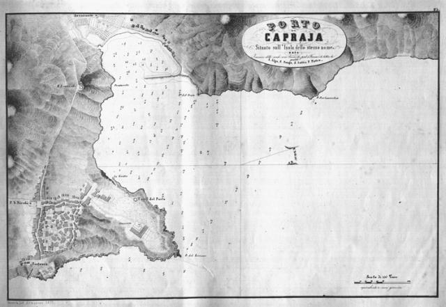 G. Albini - Porto di Caprja - 1854