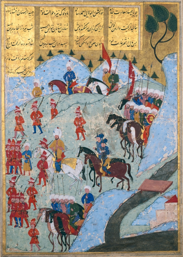 the_ottoman_army_marching_on_the_city_of_tunis_in_1569_ce