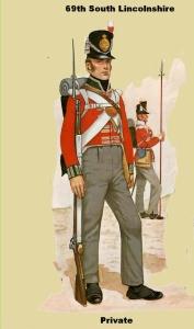 69 regiment on foot