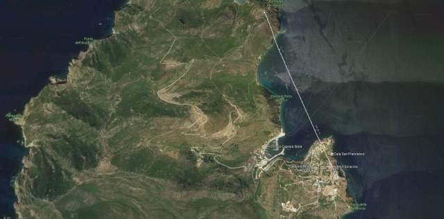 Distanza Forte -Monte Capo