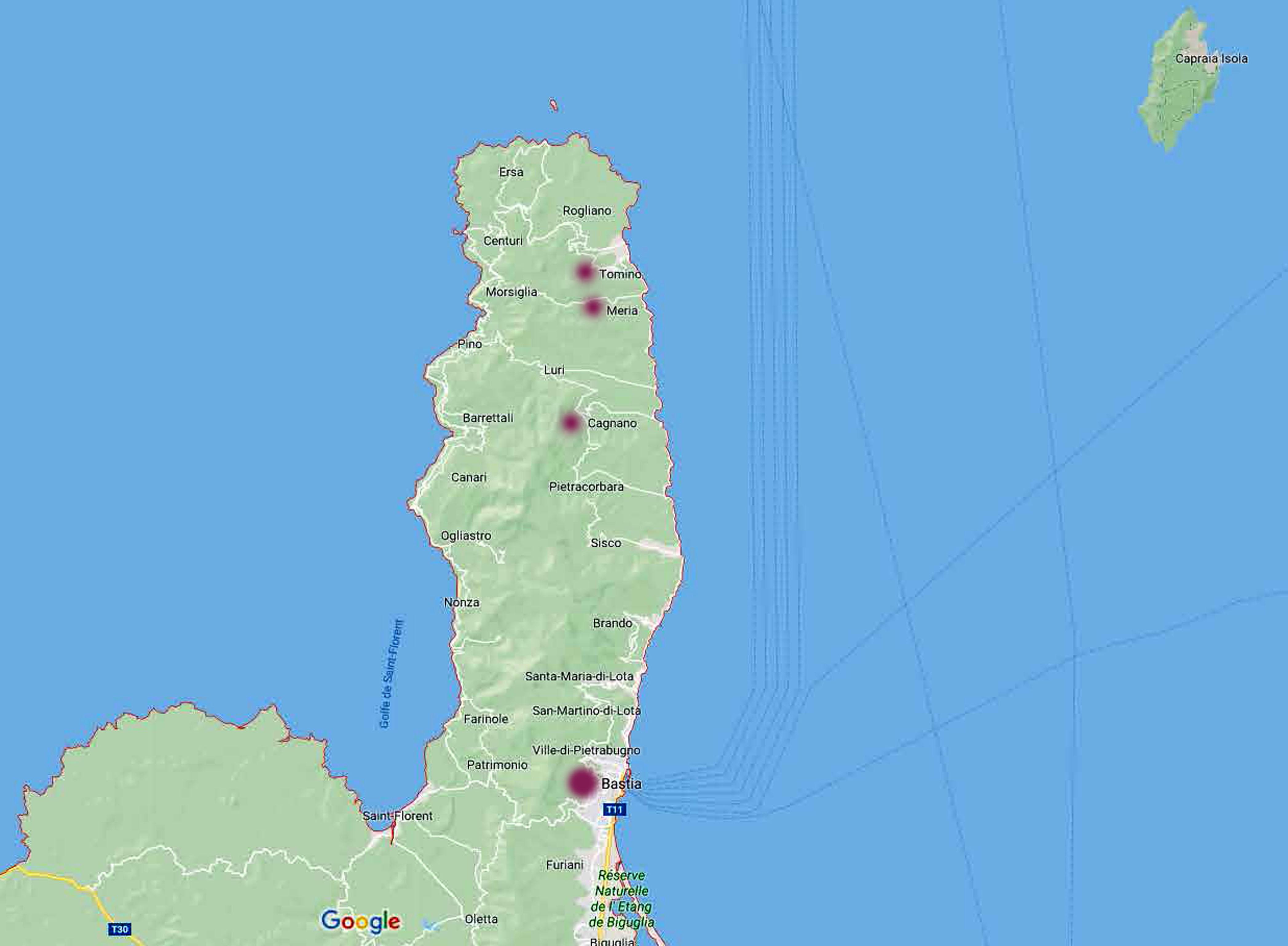 Bastia e Capocorso